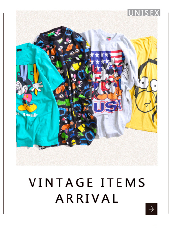 VINTAGE ITEMS ARRIVAL