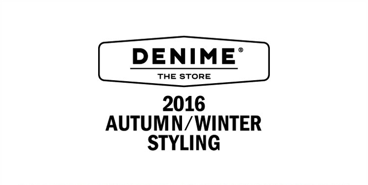 MENS 2016 AUTUMN/WINTER STYLING