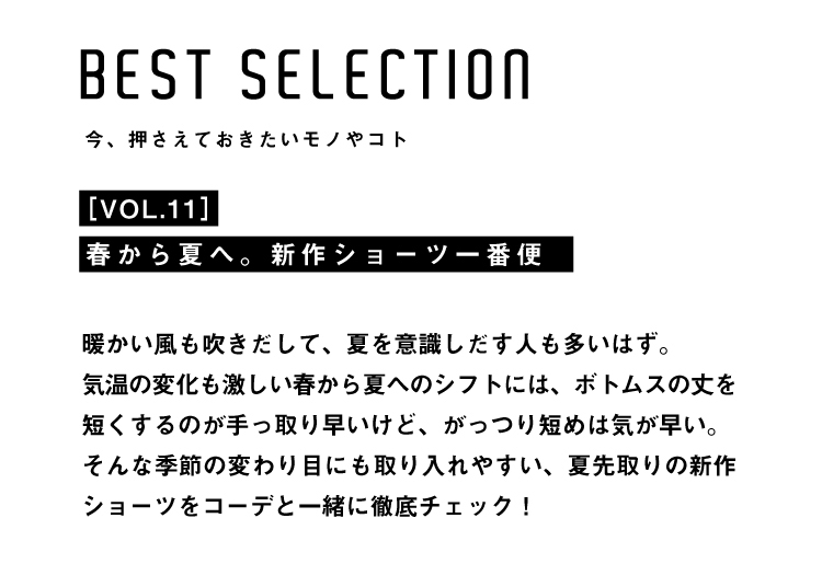 BEST SELECTION MENS VOL.11